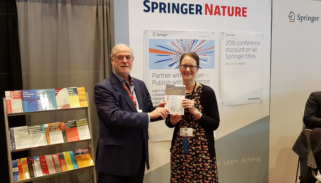 Zimmermann discussed journal issues with publishers from Springer